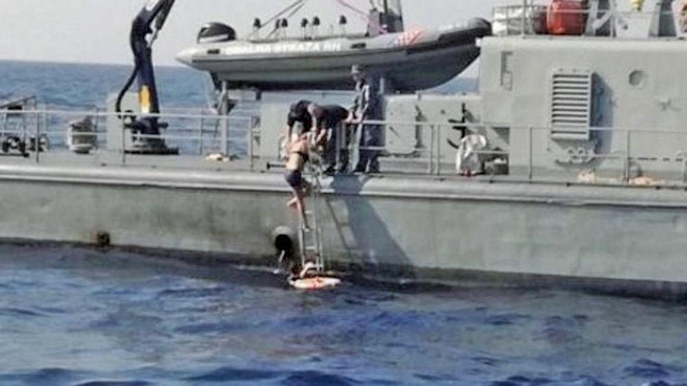 英女子從郵輪上墜海 漂流10小時奇蹟獲救