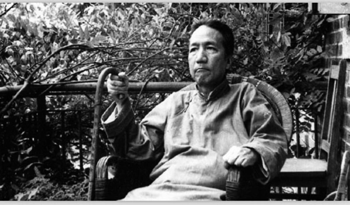 國學大師陳寅恪。