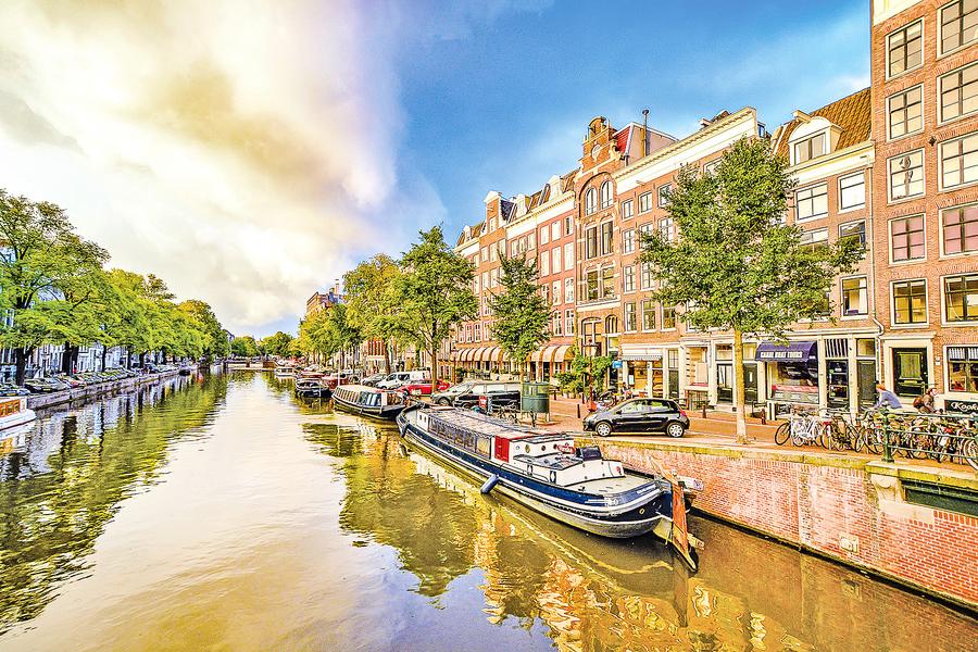 荷蘭三韻之一 窗裡的世界
