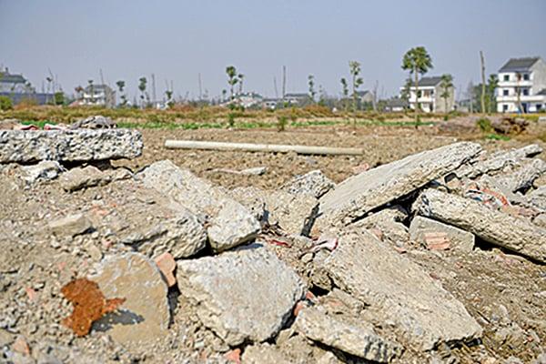浙江的一片土地。(AFP)