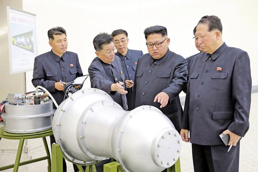 韓媒:北韓擬向美提交核武清單