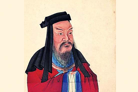 曹操彩像(公有領域/大紀元製圖)