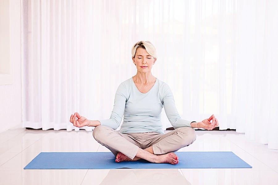 研究:靜坐可有效抑制壓力基因