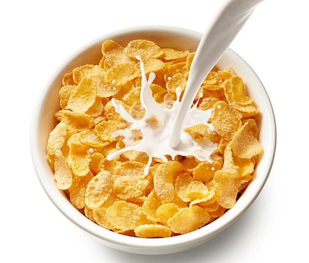 University of Guelph研究團隊證實,若將牛奶搭配高碳水化合物的穀物作為早餐,能有效控制餐後血糖。(Okea / Fotolia)