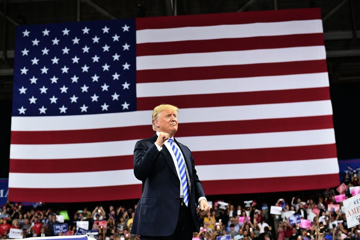 美國總統特朗普(MANDEL NGAN/AFP/Getty Images)