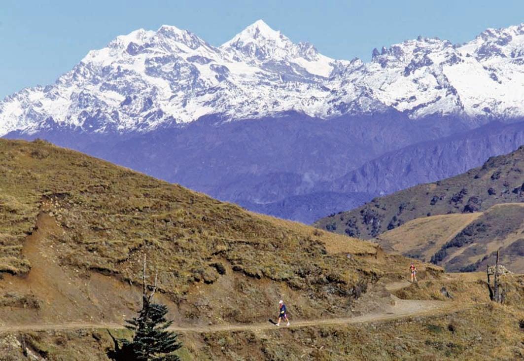 從大規模的水壩建設到肆無忌憚的資源開採,人類活動對喜馬拉雅生態系統造成嚴重破壞。圖為喜馬拉雅山雪峰。(Getty Images)