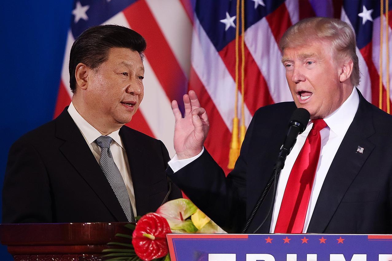 中美貿易第四輪談判無果而終後,韓媒指中、美戰場漸轉移至朝鮮半島。(大紀元合成圖)