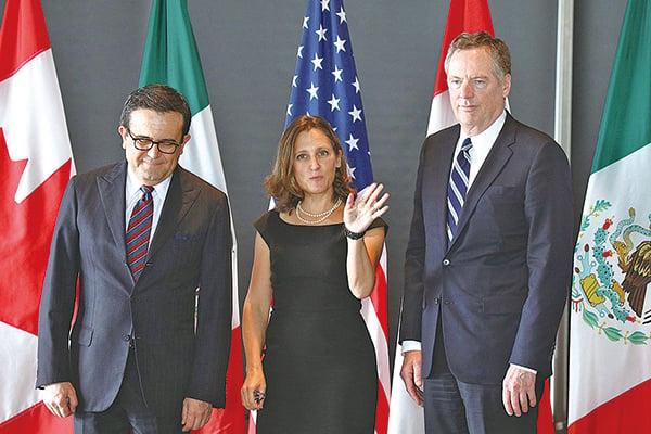 加拿大加入美墨貿易談判