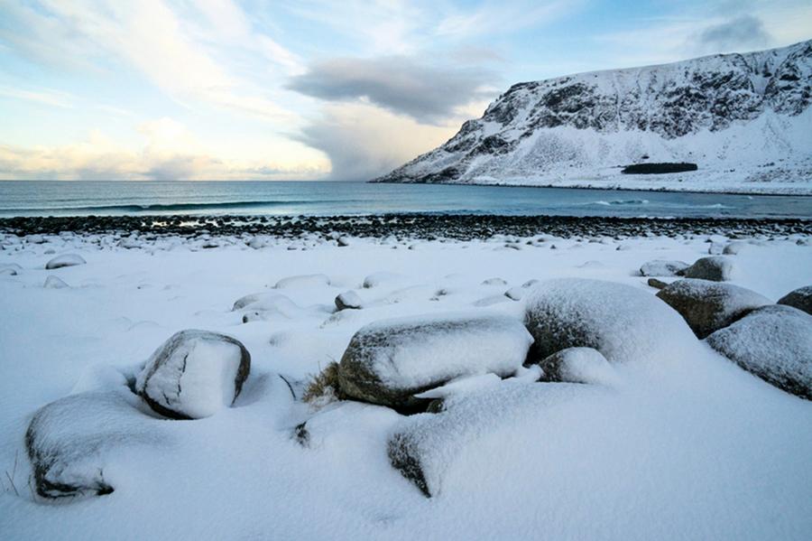 北極凍土冬天卻不凍結
