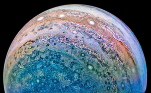 新研究揭示木星絢麗渦漩成因