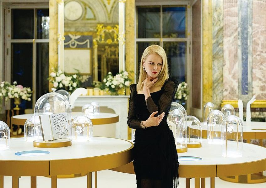 妮歌潔曼擔任歐米茄美麗大使