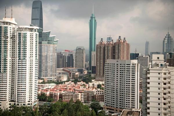 有美媒稱,未來12個月中國風險最大的是房地產,而且遠比貿易戰還危險。(FRED DUFOUR/AFP/Getty Images)