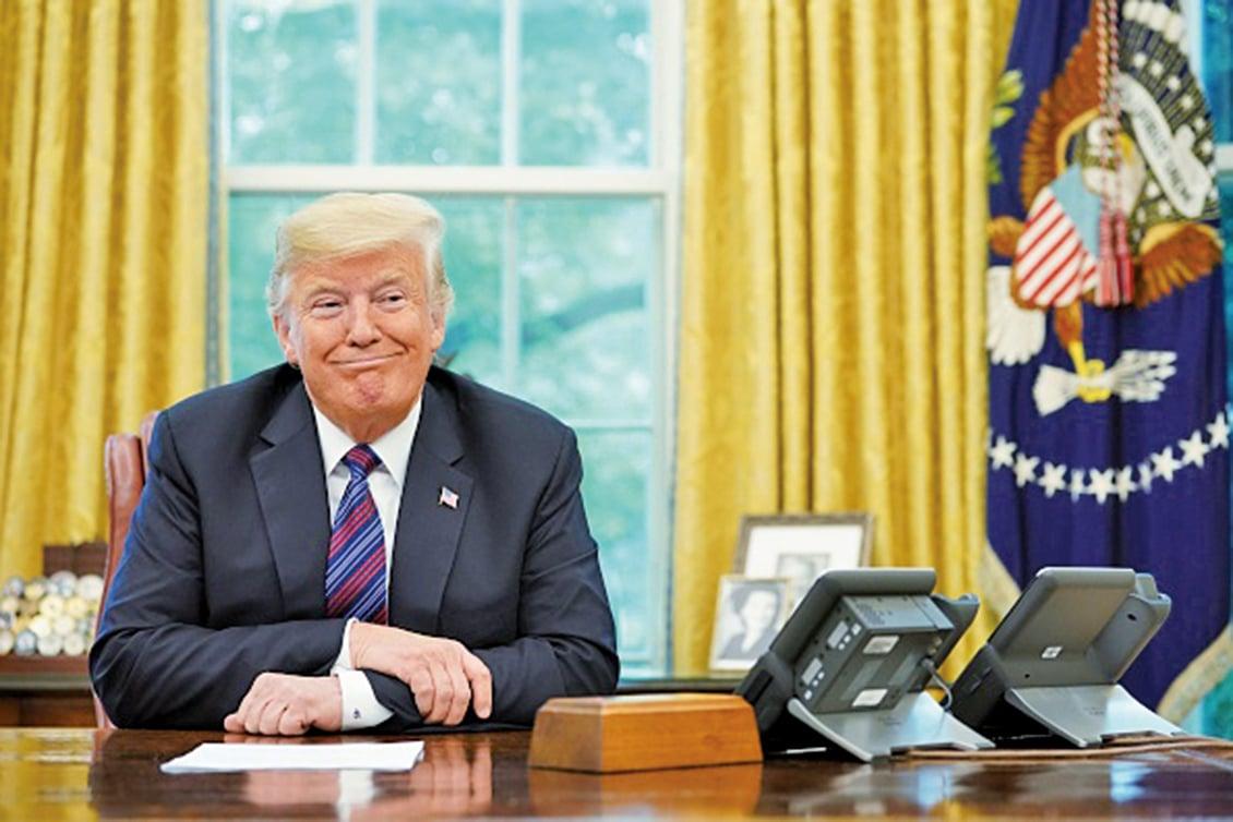當特朗普總統宣佈跟墨西哥達成貿易協議、取代《北美自由貿易協議》(NAFTA)的時候,此協議影響最大的將是中共。(AFP)