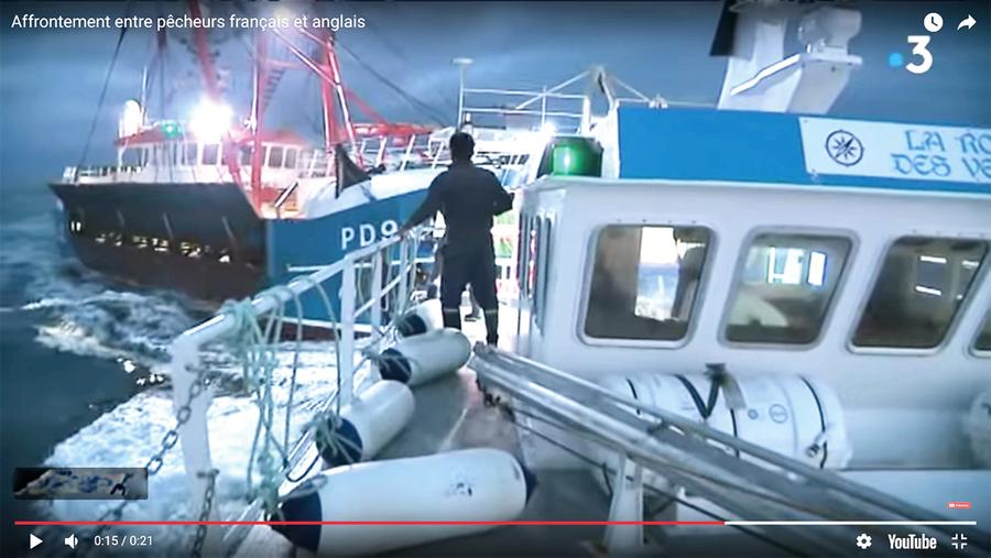 英法漁民爆發「扇貝海戰」