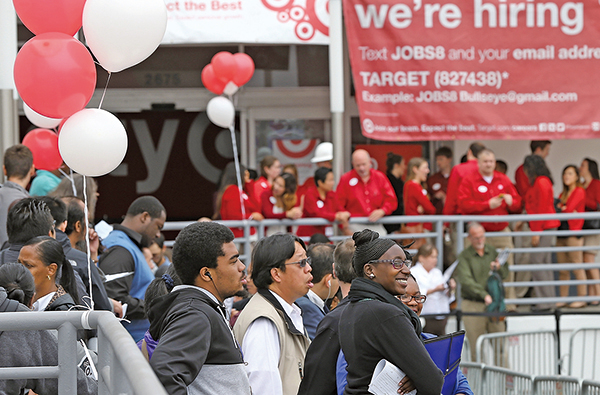 美國失業率創新低,加息步伐受關注。(大紀元圖片庫)