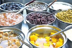 台灣的傳統水果剉冰
