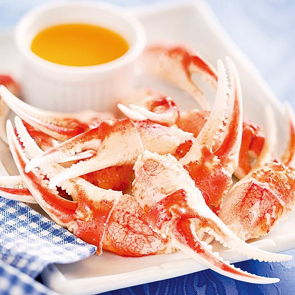 黛玉將蟹螯內肥厚的白肉比作「嫩玉」(fotolia)