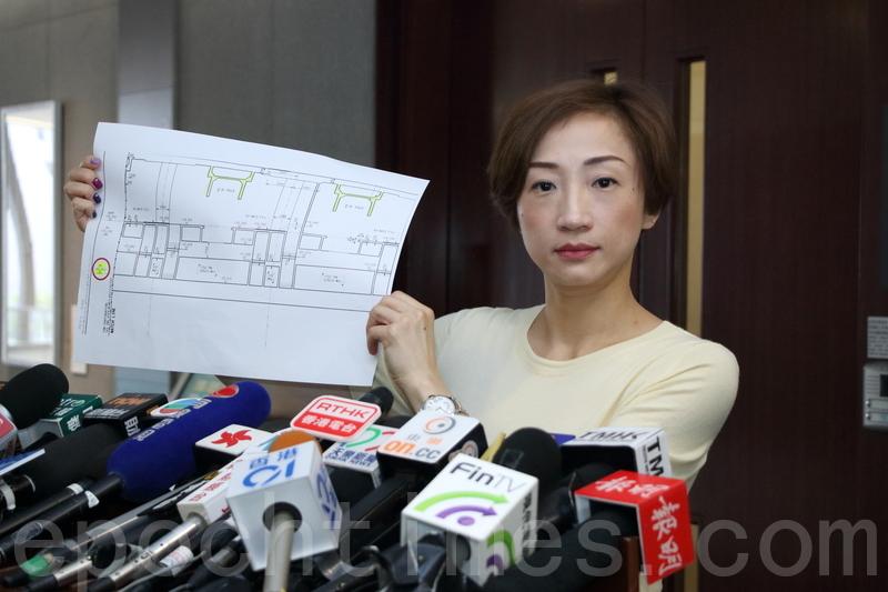 「一地兩檢」昨日正式實施,立法會議員陳淑莊形容是香港法治最黑暗的一天,又高鐵的細節問題至今仍層出不窮,要求政府在高鐵通車前到立法會交代。(蔡雯文/大紀元)