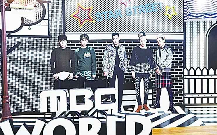 可以與BIGBANG人形立合照的 「Star Street」拍照區。
