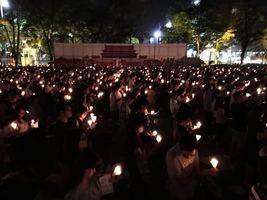 【六四.維園】六四27周年 市民陸續赴維園悼念