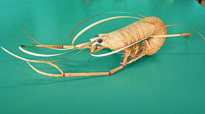 活跳跳的竹蝦。