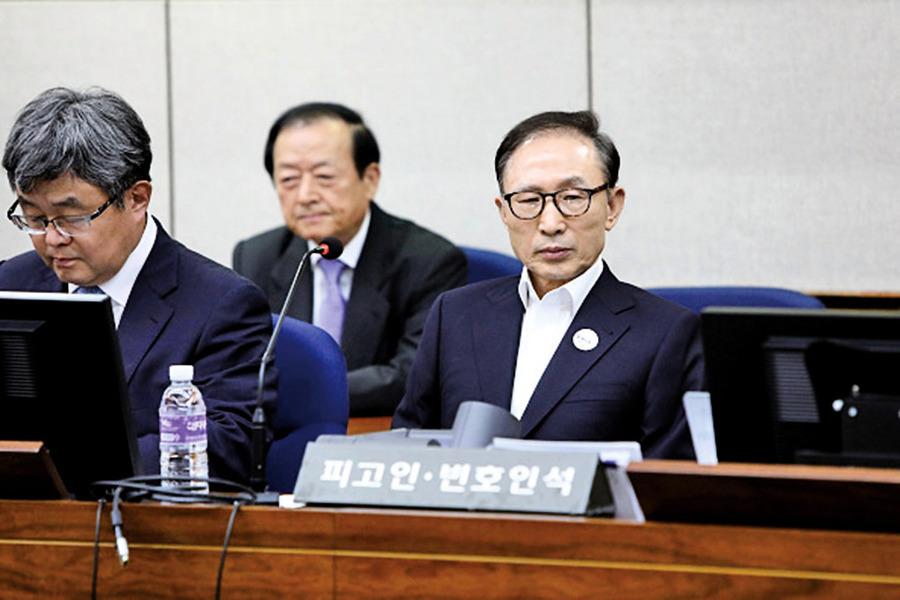 南韓前總統李明博涉巨額貪腐 求刑20年