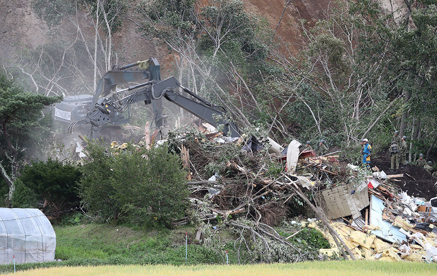 北海道地震釀35死 厚真町3人仍失蹤
