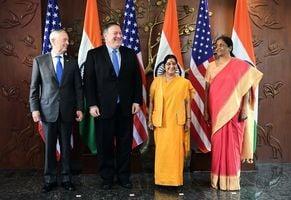 加強合作對抗中共 美國印度簽署軍事協議