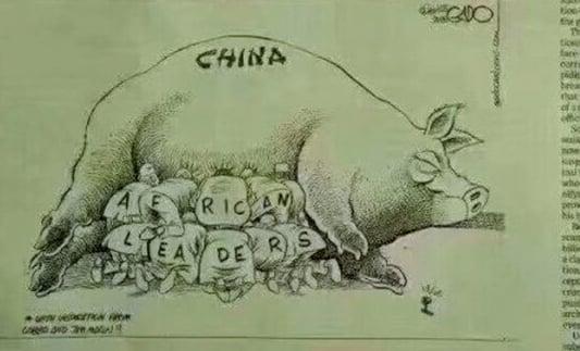 【北京觀察】諷刺漫畫告訴北京 肯雅不領情