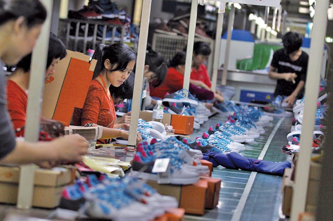 中國出口產品主要是廉價的低端商品,缺乏高端自有品牌。(Getty Images)