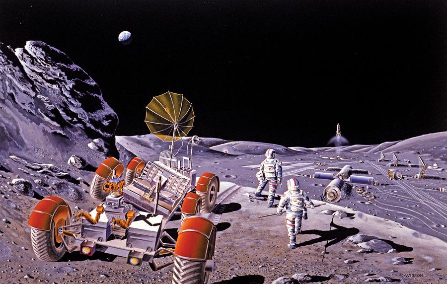 月球上建點定居 月球塵埃或大有作為