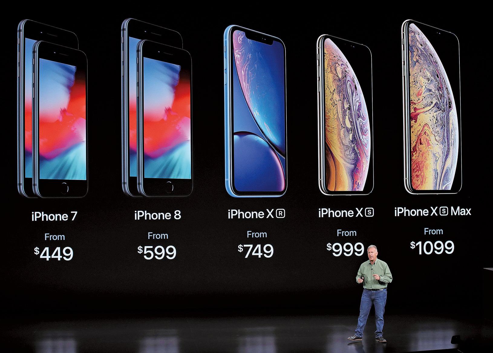 9月12日,2018年蘋果秋季新品發佈會如期舉行。在發佈會上,蘋果正式發佈新款iPhone手機。(Getty Images)