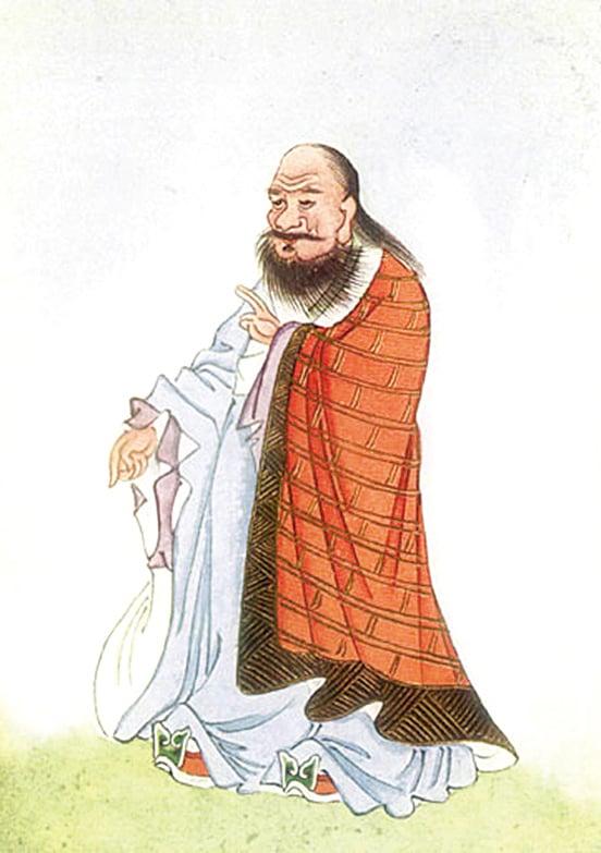 老子 (圖片來源:維基百科)