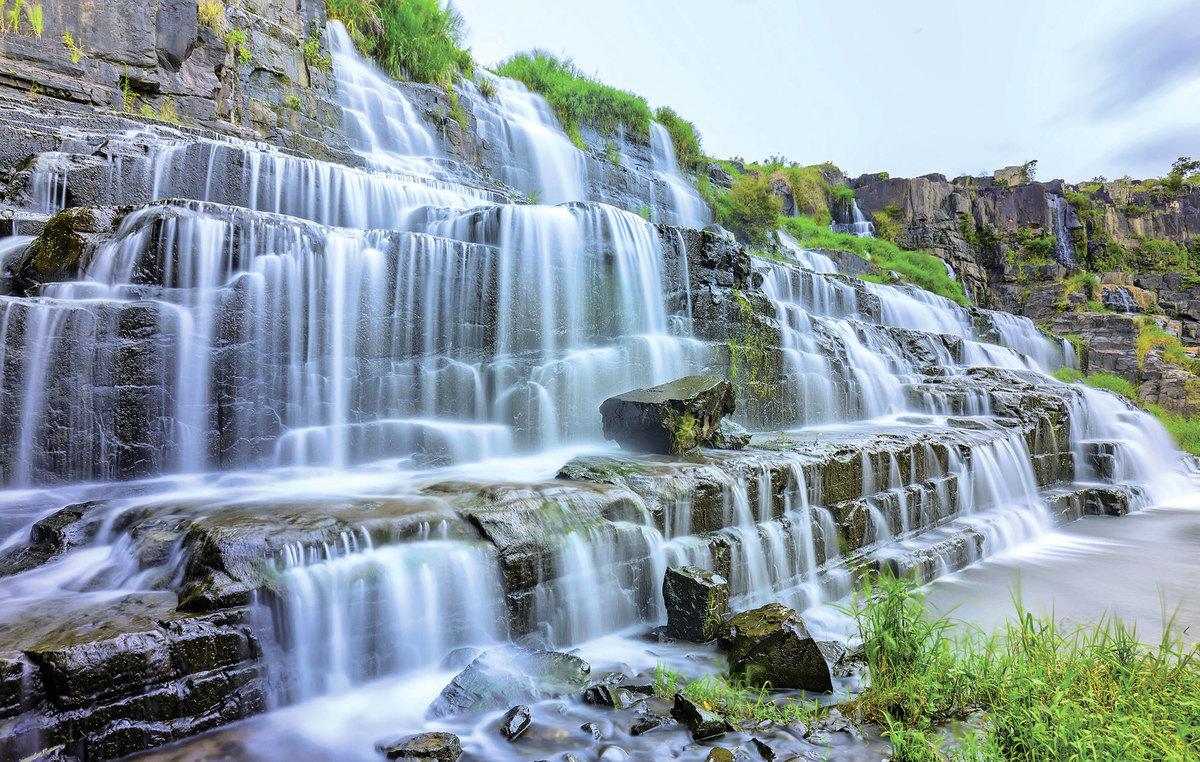 越南的龐卡爾瀑布。