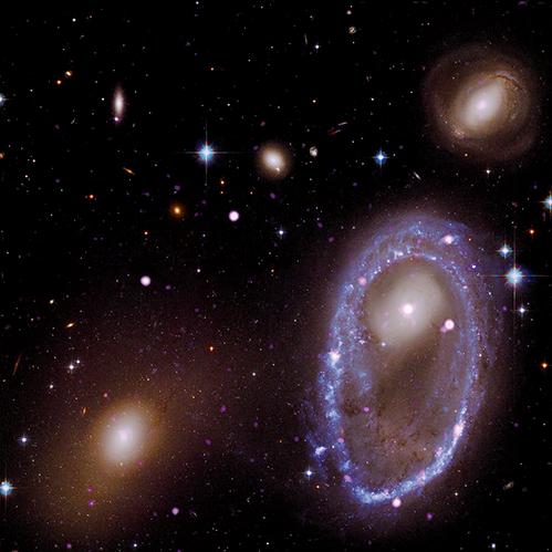 NASA拍到三億光年外美麗環狀物