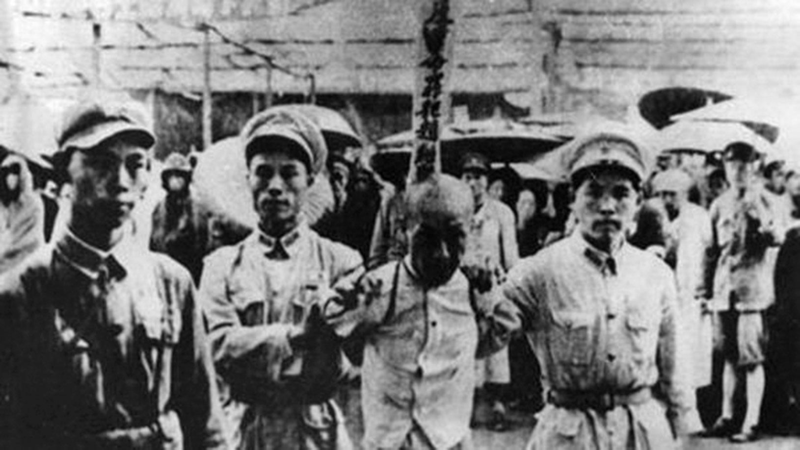 喊錯口號招來對根本就不存在的「社會民主黨」的濫抓濫殺的肅反狂潮中,就有超過6,350餘名中共黨政軍幹部死於非命。(網絡圖片)
