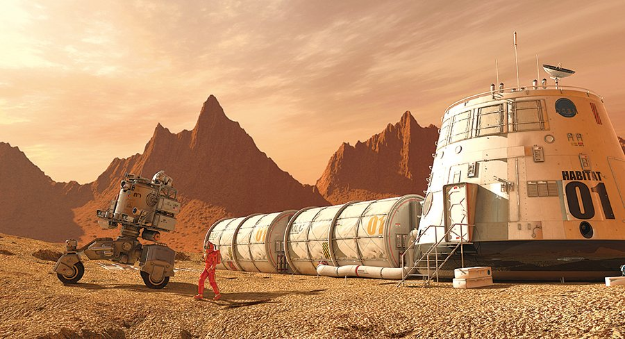 啤酒或爲人類生存在火星的關鍵