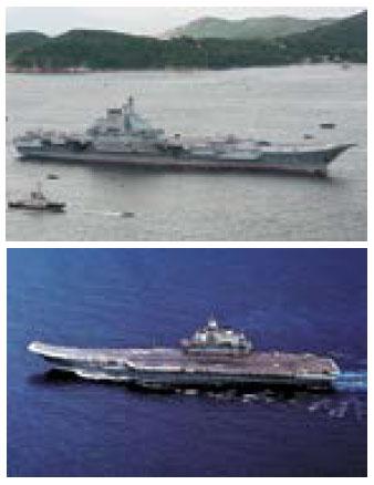 遼寧艦被評為世界最差航母