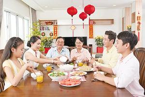 節日別吃太補正確飲食健康過節