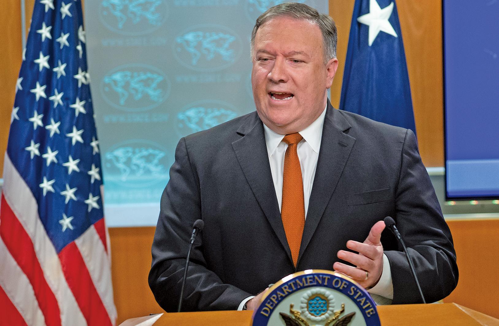 美國務卿蓬佩奧周三(9月19日)表示,美國準備好即刻參與北韓的無核化談判,且朝鮮半島無核化將於2021年1月完成。(AFP)