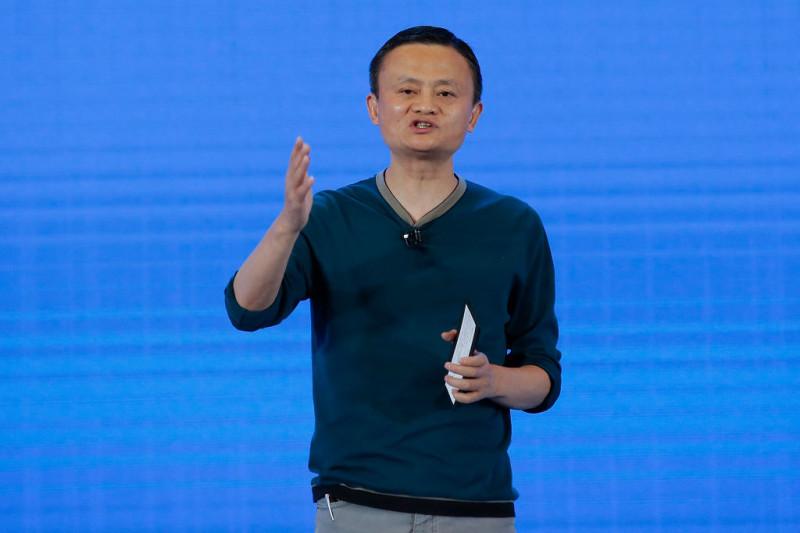 近日,卸任阿里巴巴集團董事局主席一職的馬雲,在直播時,突然遭遇畫面被切換轉為黑屏的詭異一幕。引發輿論各種猜測。(Lintao Zhang/Getty Images)