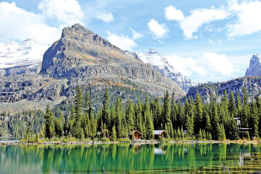 秋水長天會佳人 加拿大 歐哈拉湖探秘