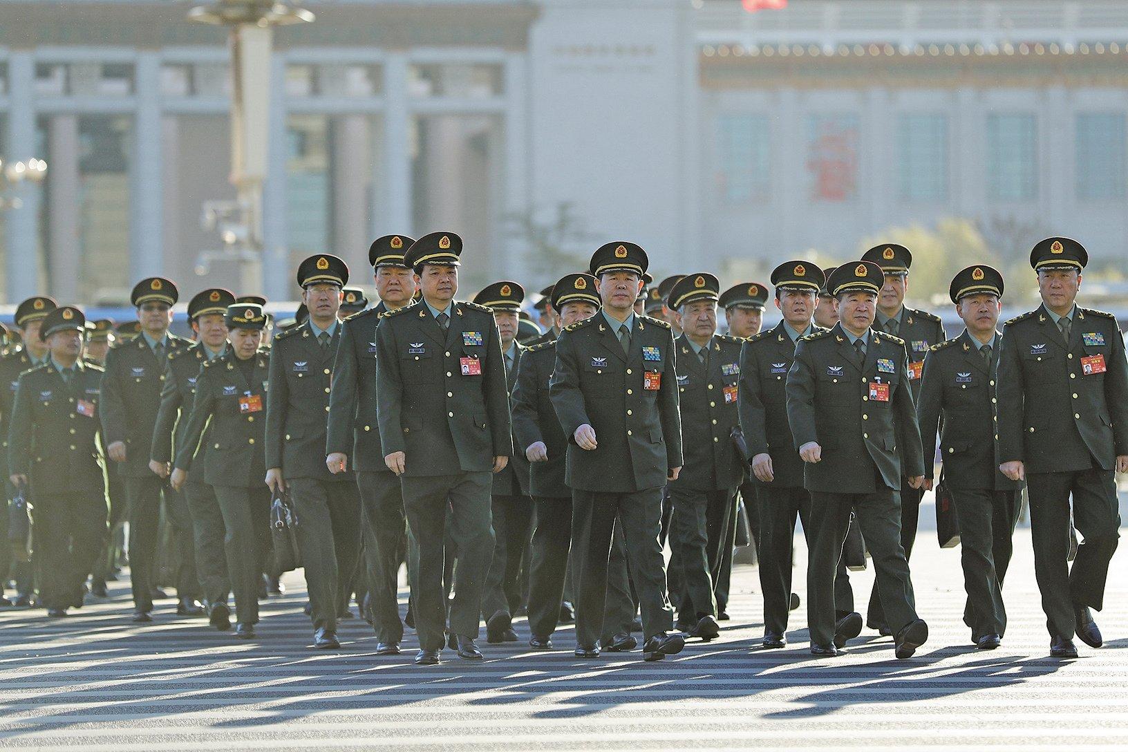 9月20日,美國政府對中共軍委下屬的裝備發展部及其部長李尚福實施制裁。圖為中共軍方資料照。(Getty Images)
