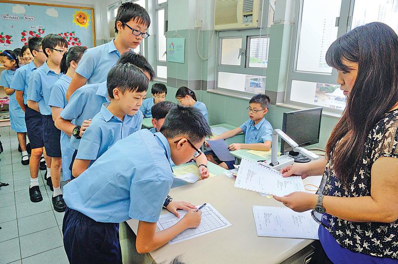 最近有報道引述大學研究稱無證據顯示普通話有助提升學生中文水平。(大紀元資料圖片)