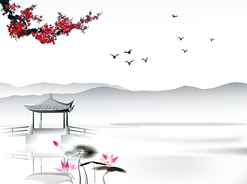 中國畫。(fotolia)