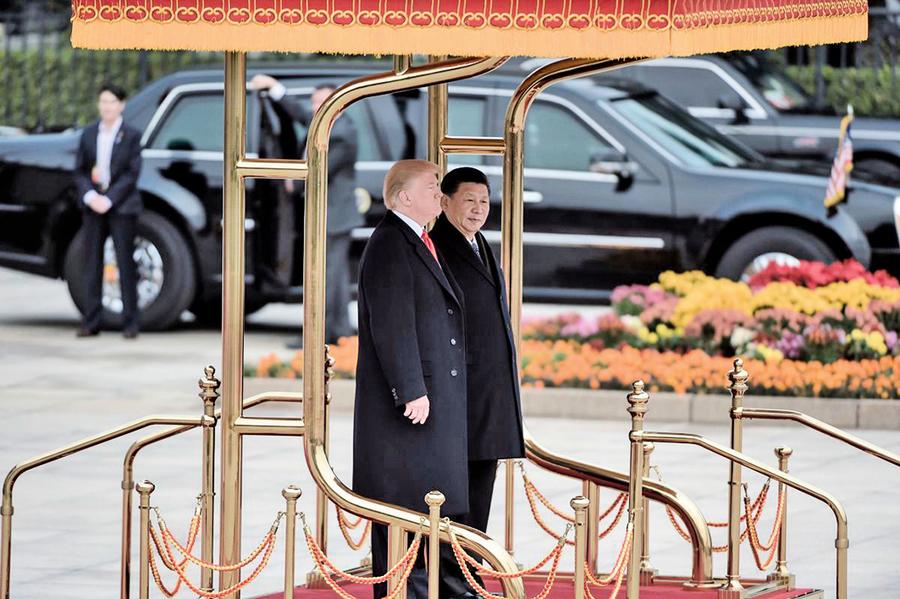 貿易戰涉及中共政經體系