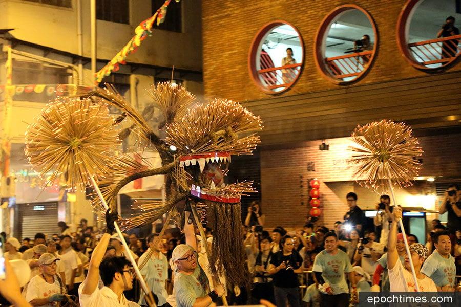 大坑舞火龍 傳承139年歷史文化