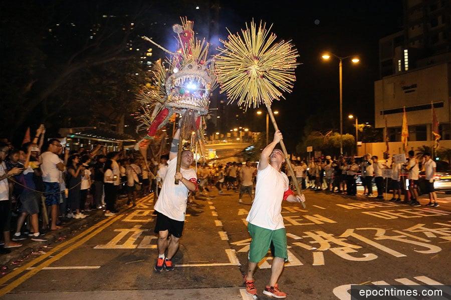 中秋火龍盛會 延續百年傳統習俗