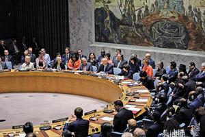 特朗普主持安理會會議 聚焦伊朗及武器擴散