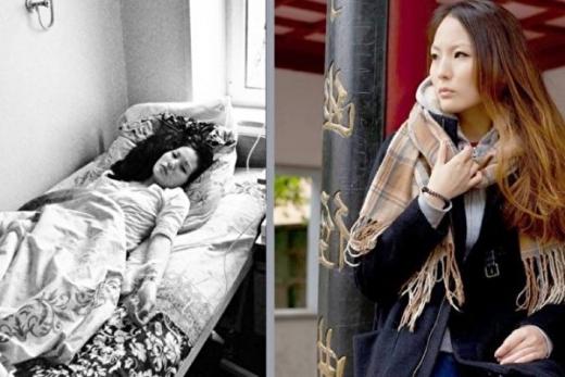 熱尼婭她從小和癌症搏鬥,經歷了很多痛苦。(俄文大紀元)